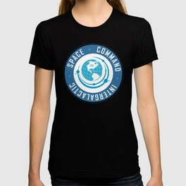 Intergalactic Space Command Logo 2 T-shirt