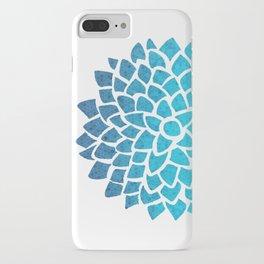 Sea Glass Dahlia iPhone Case