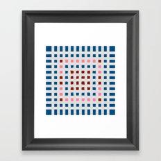Color Blocks for Fun Framed Art Print