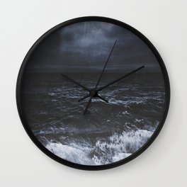 Lost in the sea Wall Clock