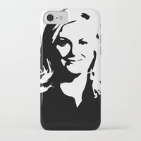 leslie knope iPhone & iPod Cases featuring Leslie Knope by Bjarni Bragason