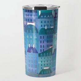 Paris Blues Painting Travel Mug