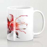goldfish Mugs featuring Goldfish by Robert Farkas