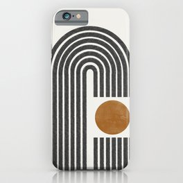 Modern Shape Art iPhone Case