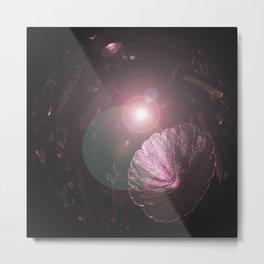 Crystal Flares Metal Print