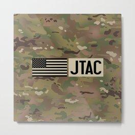 JTAC (Camo) Metal Print