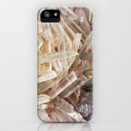 Sparkly Clear Magical Unicorn Crystal Shards iPhone Case