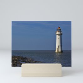 New Brighton Lighthouse Mini Art Print