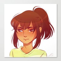 chihiro Canvas Prints featuring Chihiro by AndytheLemon