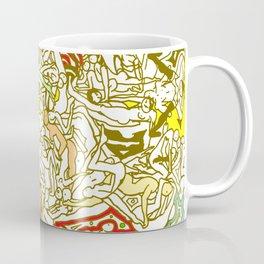 Kamasutra LOVE - Retro Yellow Coffee Mug