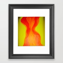 Aura Sacral Framed Art Print
