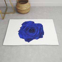 blue rose Rug