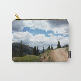 The Road of Life: Venture to Learn What's Around the Next Bend, and Prepare for Stormy Skies Carry-All Pouch