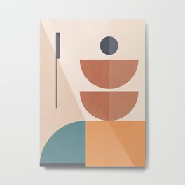 Geometric Abstract 108 Metal Print