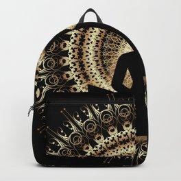 Meditating buddha Art Backpack