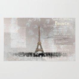 PARIS Collage Rug