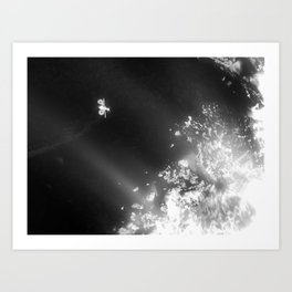 Aquila at 46P/Wirtanen Part 2 Art Print