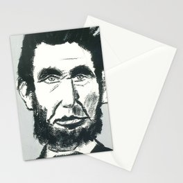 What Would This Guy Do? - Lincoln Stationery Cards