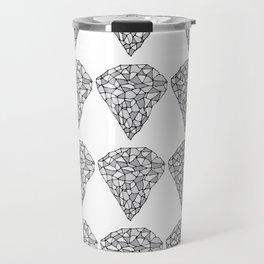Diamond Repeat Pattern Travel Mug