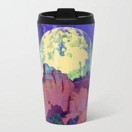 night desert landscape Travel Mug