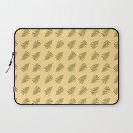 Fern pattern in cappuccino  Laptop Sleeve