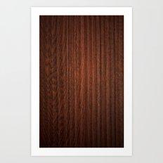 Wood #3 Art Print