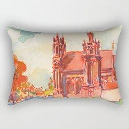 Vilnius - St. Anne's  Rectangular Pillow