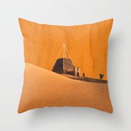 Reconstructed II Throw Pillow