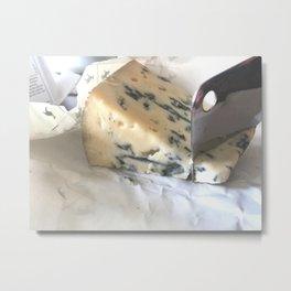 Blue Cheese Metal Print