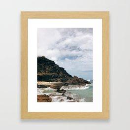 Hālona Framed Art Print
