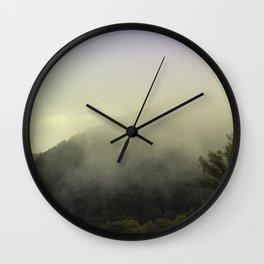 Austrian hills 2 Wall Clock