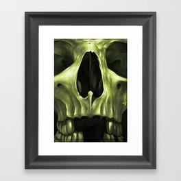 Skull 11 Framed Art Print
