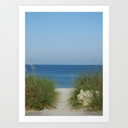 Path to the Sea Art Print