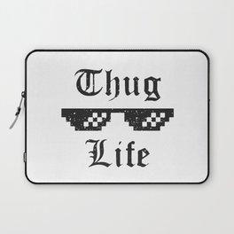 Thug life glasses print Laptop Sleeve