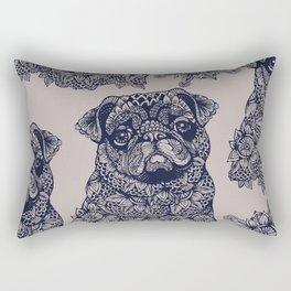 MANDALA OF PUG Rectangular Pillow
