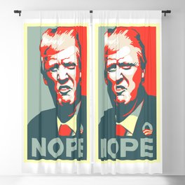 Trump NOPE Blackout Curtain