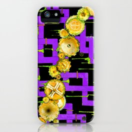 Pipes Slime & Gears iPhone Case