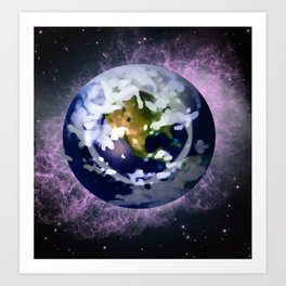 We're all made of Space Stuff Art Print