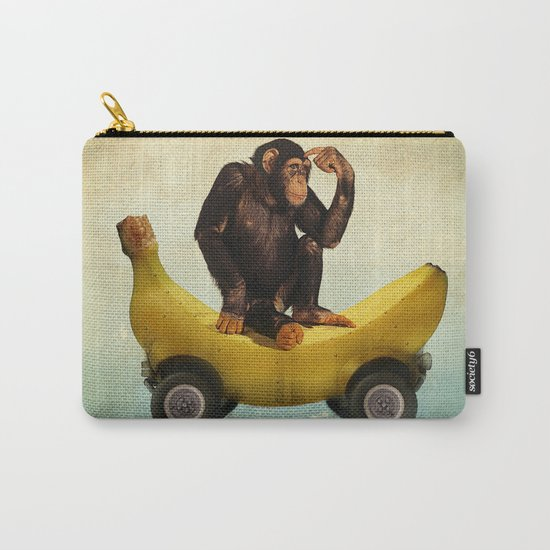Chimp my Ride Carry-All Pouch