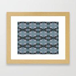 ATOMIC SQUID ZEPPELIN Framed Art Print
