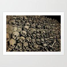 Bones Art Print
