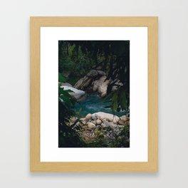 Secret Pool Framed Art Print