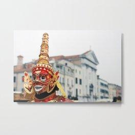 Carnevale di Venezia_01 Metal Print