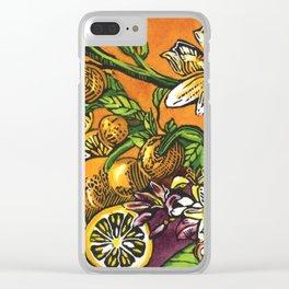 Lemons 1 Clear iPhone Case