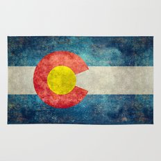 Coloradan State Flag Rug