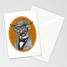 Min Pin Holmes Stationery Cards