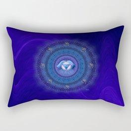 Ajna Chakra Mandala  Rectangular Pillow