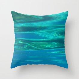 Sea design Throw Pillow