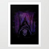 Cosmic wizard Art Print