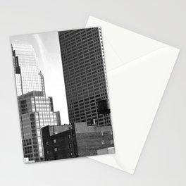 Minneapolis Skyline Black and White Minnesota Stationery Cards